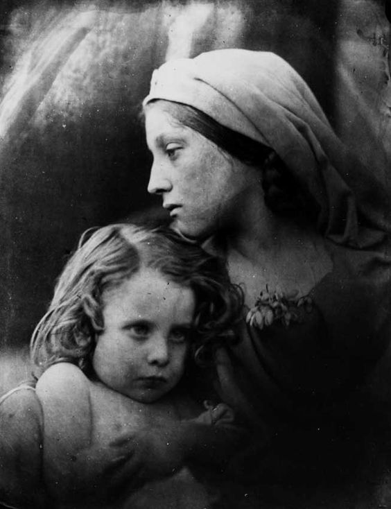 Portrait Created By Julia Margaret Cameron