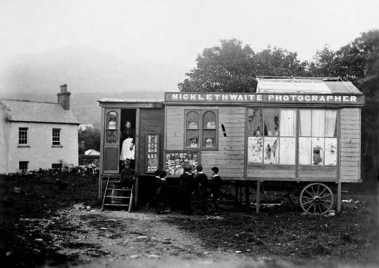 Micklethwaite's Portable Studio Between 1850-1860