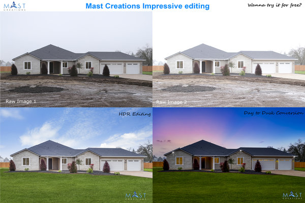 Real estate Image Editing mast Creations